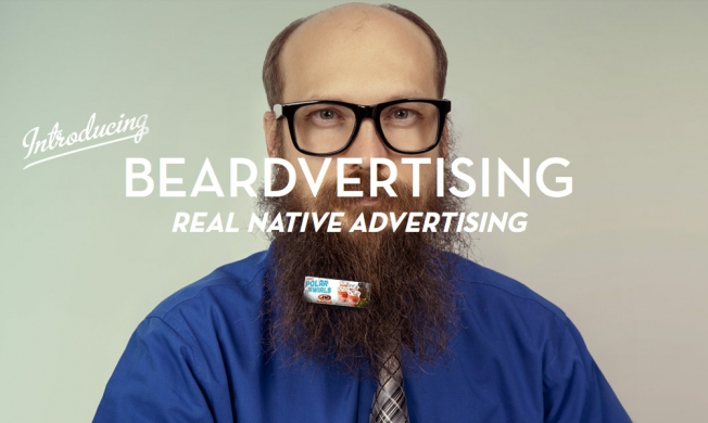 'Beardvertising' The Hairy Wave Of The Future?