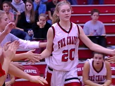 Lindsay Cowher played basketball at Fox Chapel High School.