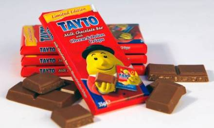 Cheese and onion chocolate bars sell out in Ireland