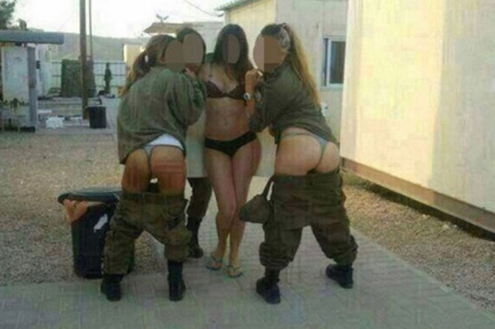 Female Israeli Soldiers Disciplened Over Racy Facebook Photos