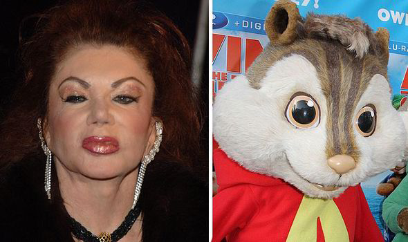 Jackie Stallone Aware Of Not So Normal Looks