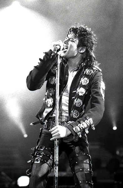 Michael Jackson's bottom