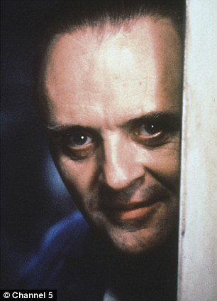Author Thomas Harris  has revealed the inspiration for his most chilling creation, Hannibal Lecter, as played by Anthony Hopkins in Silence of the Lambs (left), was in fact a real-life doctor he met in a Mexican prison while working as a journalist