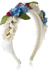 $1,475 Dolce & Gabbana headband