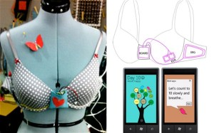 Bra Stops Over-Eating: Helps Support Healthy Eating (PHOTO)