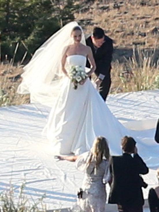 kate bosworth wore an oscar de la renta wedding dressf
