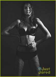 Kendall Jenner Love Magazine:  Jenner Poses in Wet Bra for Latest LOVE Spread