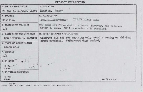 UFO reports declassified: Government UFO Files Can Now Be Seen Online (PHOTO)