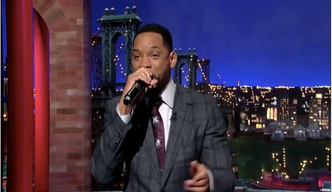 "Will Smith Letterman:  Watch The Fresh Prince Get ""Gettin' Jiggy Wit It"