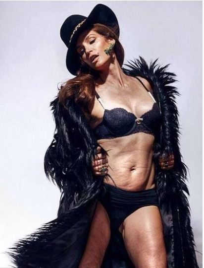 Cindy Crawford Shows What Real Women Look Like At 48