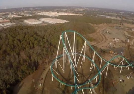 Carowinds roller coaster
