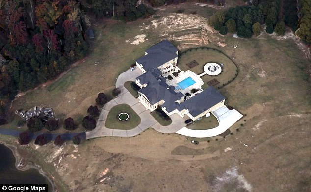 Creflo Dollar's multi-million dollar home