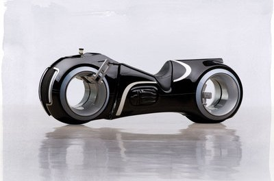 Working Tron Cycle Up For Auction (PHOTO)