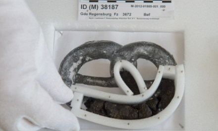 Archaeologists Discover a 250 Year-Old Pretzel