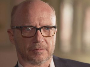 """Director Paul Haggis, who is featured in """"Going Clear,"""" publicly praised Leah Remini for leaving Scientology. Read more: http://www.businessinsider.com/paul-haggis-sent-leah-remini-letter-after-she-left-scientology-2015-3#ixzz3VxmZ4GUM"""