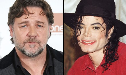 Russell Crowe Says The King Of Pop Pranked Him For Three Years