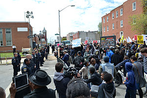 100 Baltimore Cops injured During Riots:  Police
