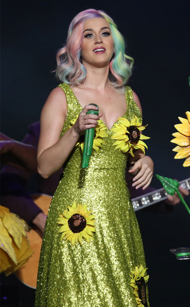 Katy Perry Sunflower Dress