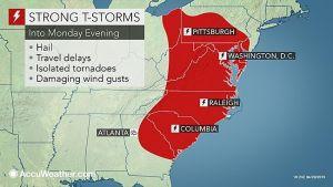 New Jersey tornado watch:
