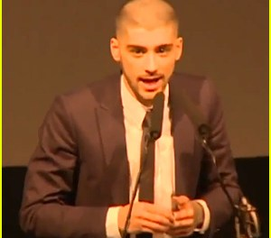 Zayn Malik Thanks One Direction At Asian Awards in London Friday Night