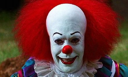 Clowns brawl:  Protesters Clash With Clowns