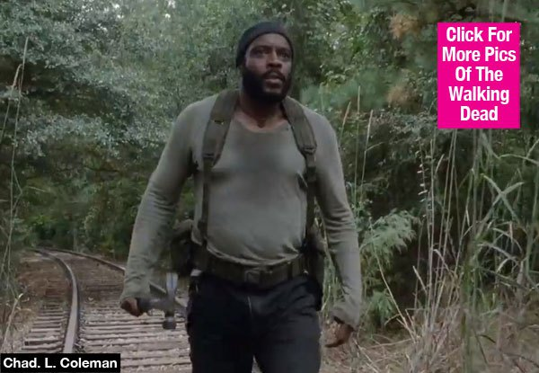 Chad L. Coleman Goes All Tyreese On Subway Riders