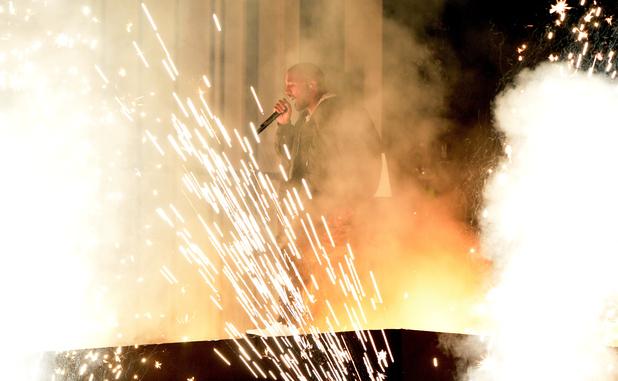Kanye West BMA Censored