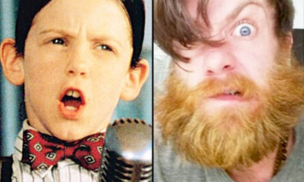 Bug Hall From Little Rascals Is All Growd Up And His Beard Is Awesome (PHOTO)