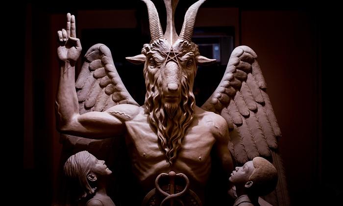 Satanic Temple Baphomet Detroit