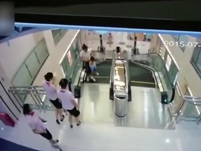 Woman In China Dies in Freak Escalator Accident