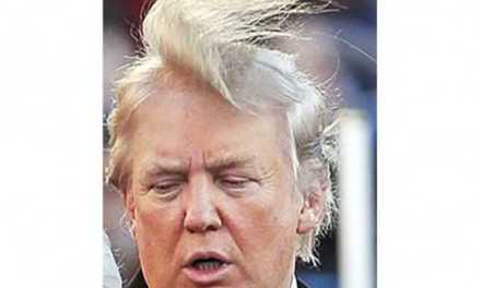 donald trump toupee:  Trump Shows His Hair is Real (VIDEO)