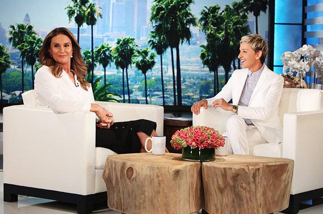Ellen DeGeneres Caitlyn Jenner