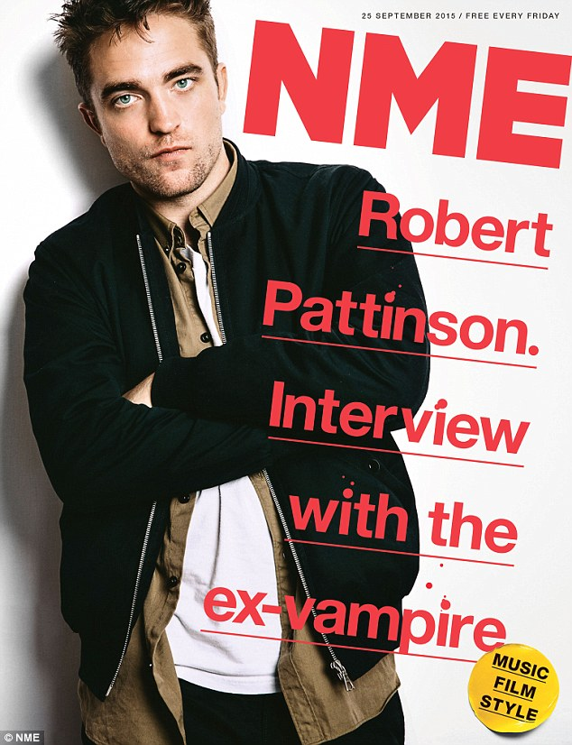 The perils of fame: Robert Pattinson has admitted playing the leading role - Edward Cullen - in The Twilight Saga meant he was unable to visit a supermarket for six years