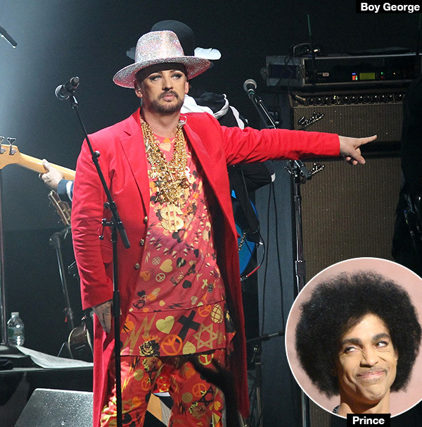 Boy George And Prince Slept Together, Apparently