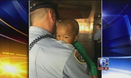 Philadelphia toddler found wandering alone, Christian Group Steps In to Help