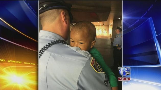 Philadelphia toddler found wandering
