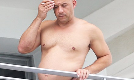 Vin Diesel Rocks Dad Bod Response Is epic (PHOTO)