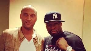 50 Cent And Derek Jeter Fued Goes Online