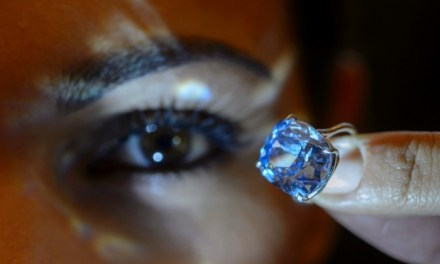 Hong Kong Billionaire Tycoon Buys Blue Moon Diamond (PHOTO)