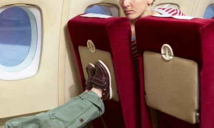 Most annoying airline passengers Are Once Again Rear Seat Kickers