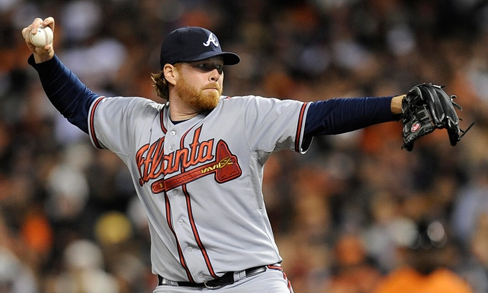 Tommy Hanson in 2011. Photograph: John G. Mabanglo/EPA
