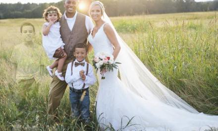 anna bozman thompson wedding photos Honors Late Son (PHOTO)