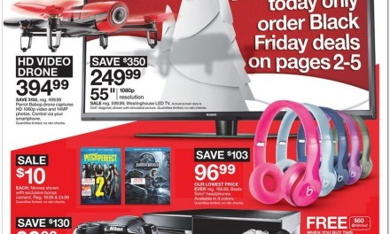 Black Friday 2015:  Target Reveals Sweet Deals