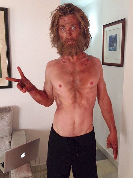 Chris Hemsworth Straved Himself To Drop Weight For Role (PHOTO)