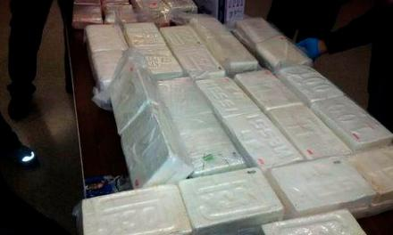 136 Pounds Of Cocaine Seized