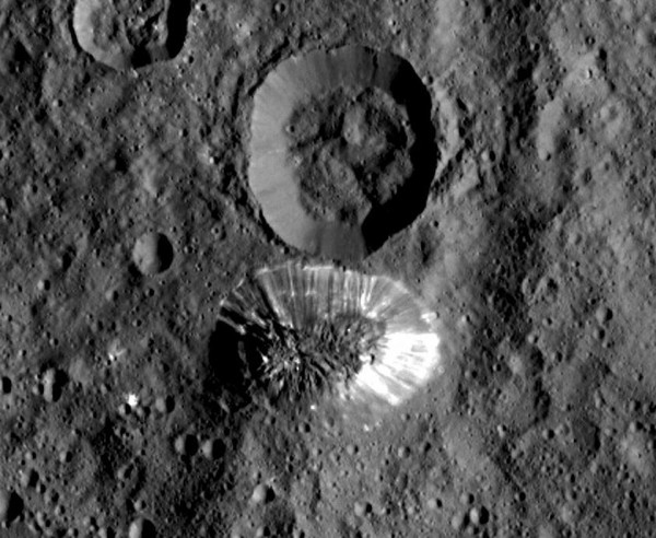 Ceres bright spots Explained