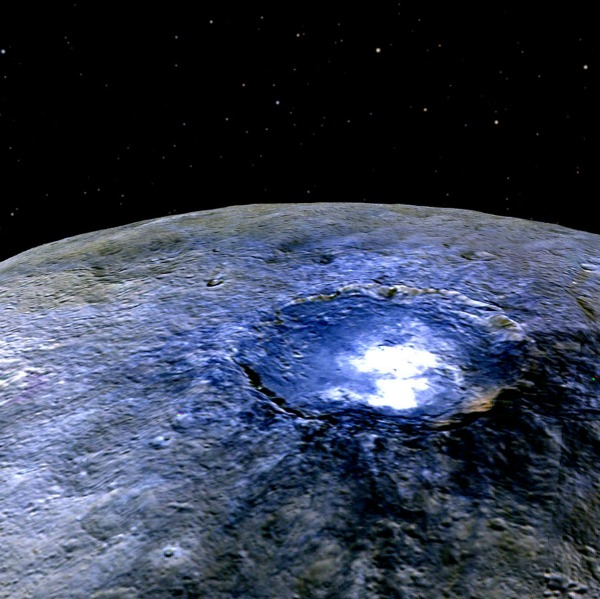 Ceres bright spots