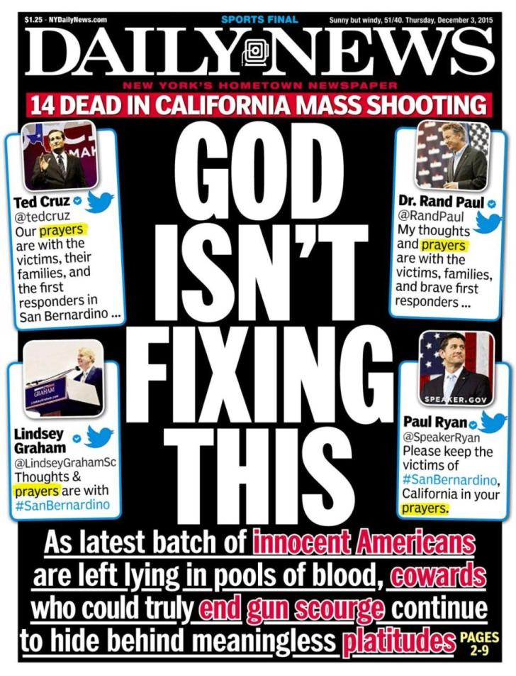 NY Daily News cover