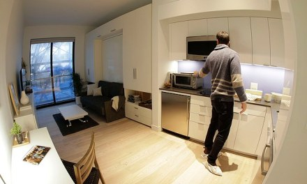 NYC micro apartment:  265 To 360 Square Feet Of Spacious Living
