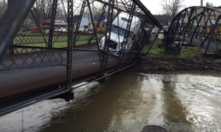 Paoli bridge Destroyed By Big Rig: Female Driver Charged (Updste)